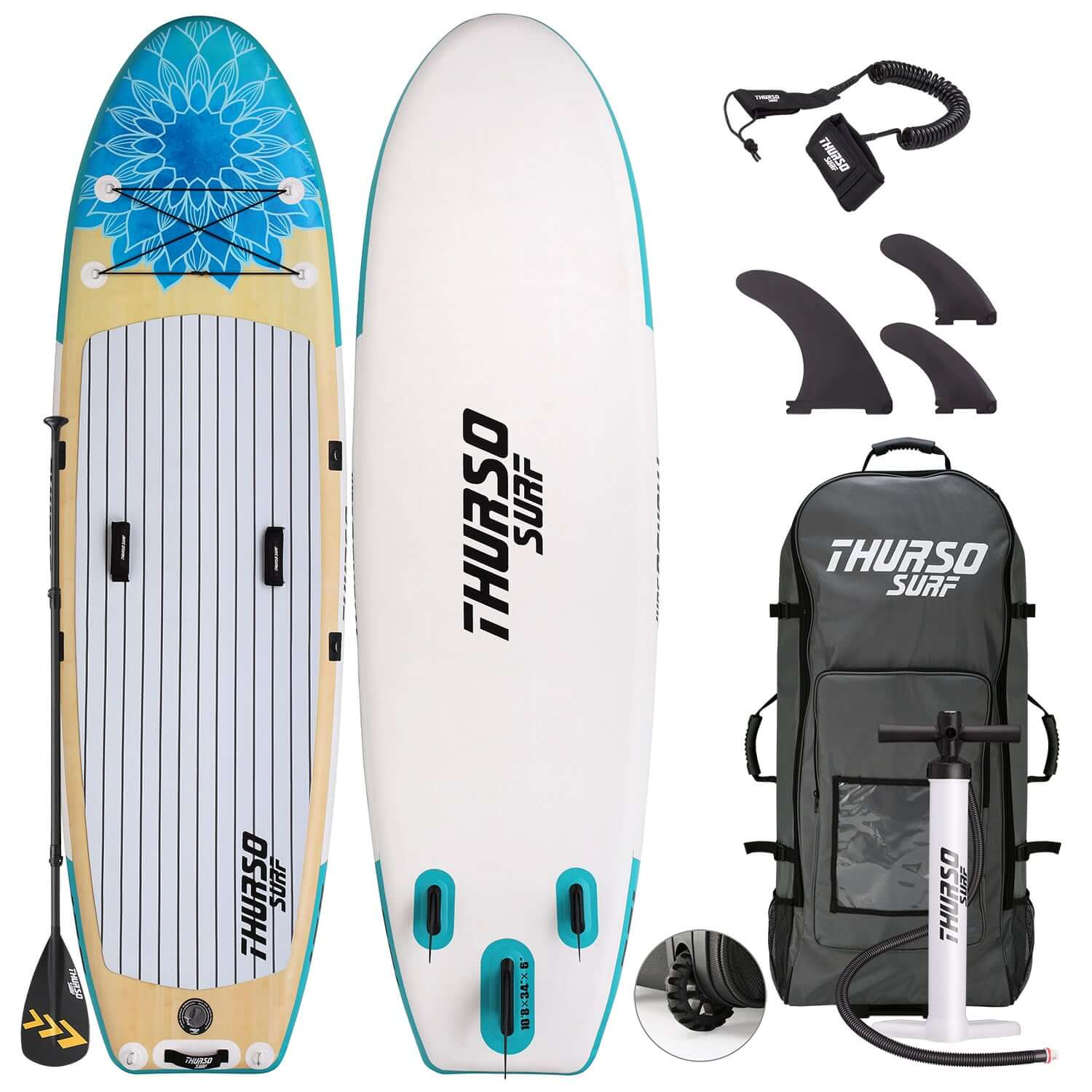 thurso surf yoga board package