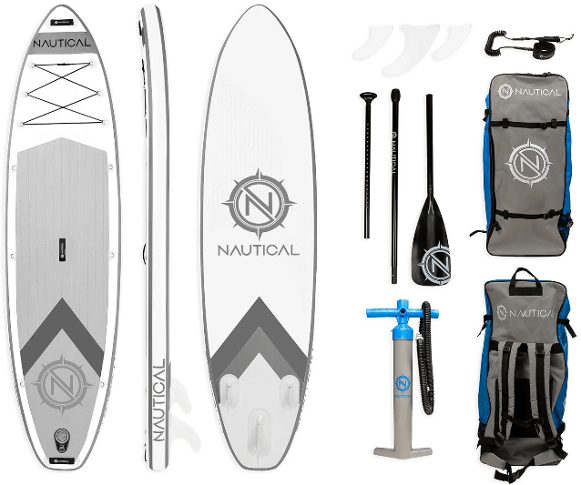 Nautical by iRocker inflatable SUP package