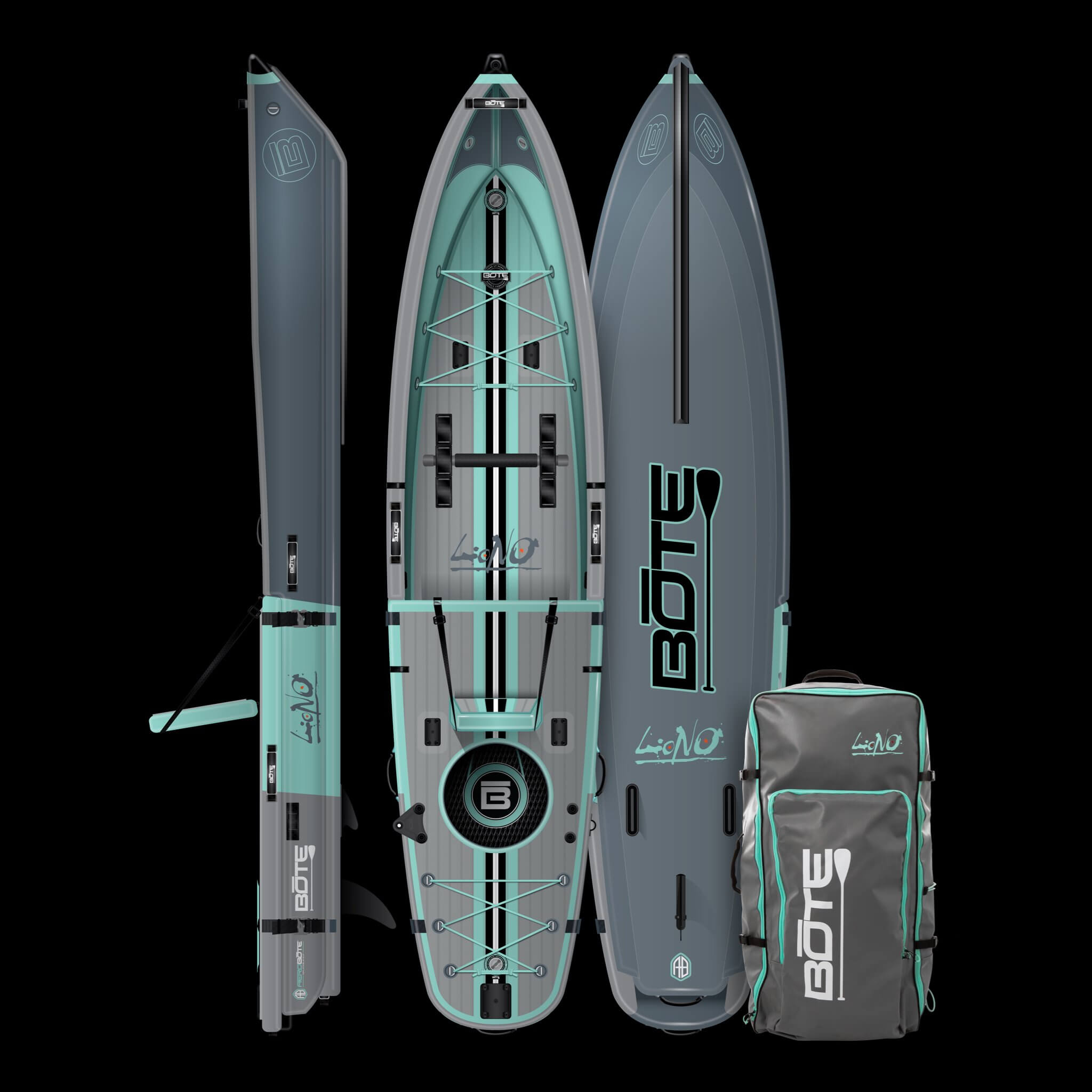 bote hybrid fishing sup