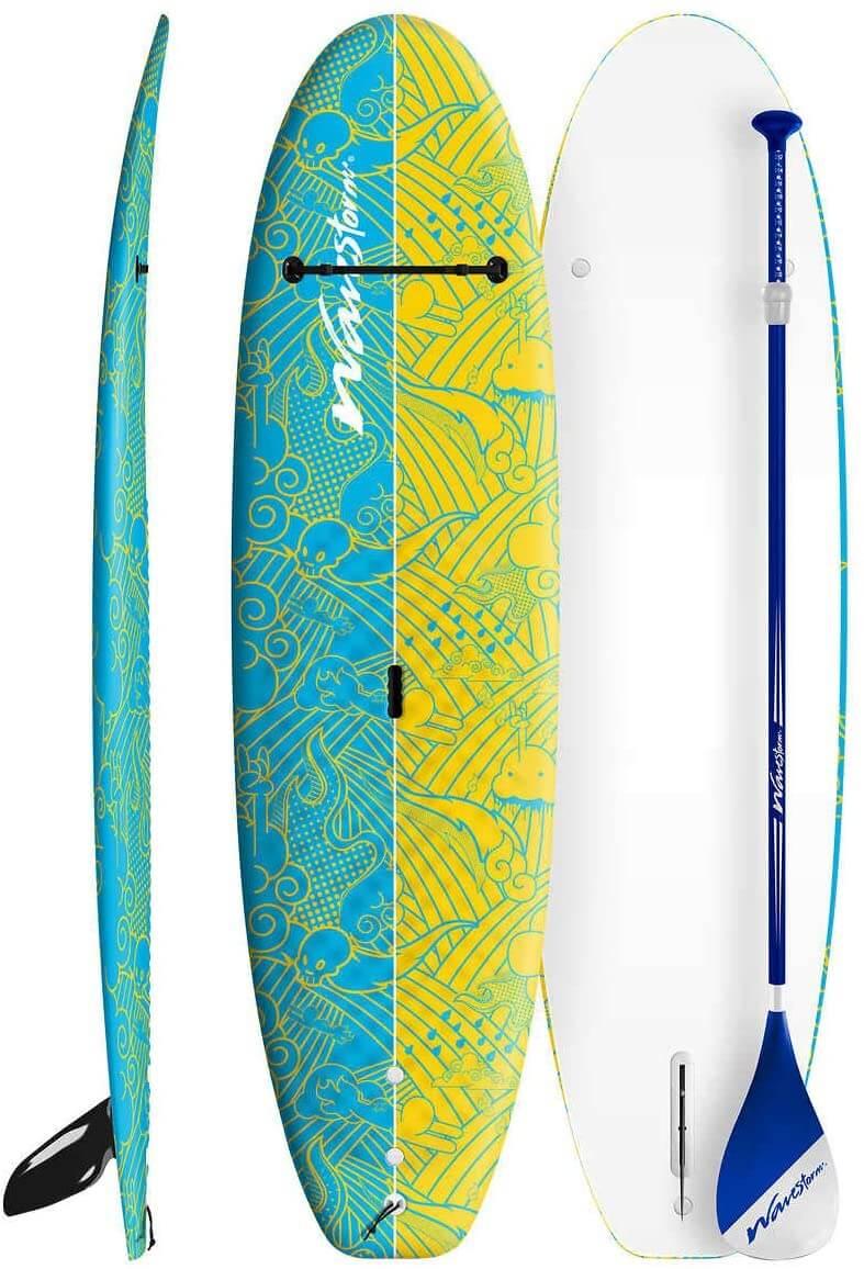 wavestorm foam paddleboard