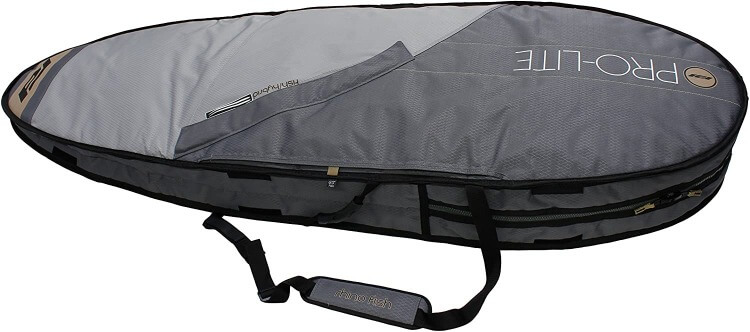 top view of the pro lite rhino travel bag