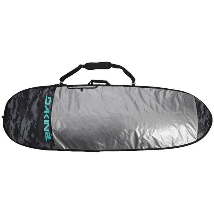 top view of the dakine daylight hybrid surfboard bag