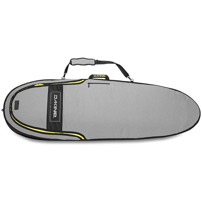 top view of the dakine mission hybrid surfboard bag