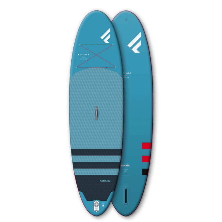top and bottom view of the fanatic fly air