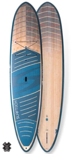 top and bottom view of the surftech generator